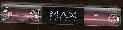 Max Factor Lipfinity Maxwear Long Lasting Lip Color Wtop Coat Ruby Falls Code580