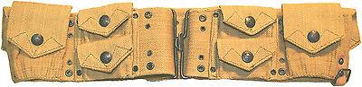 US M1909 Mills Web Mounted Cavalry Cartridge Belt