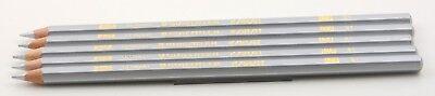 5 x Staedtler Karat 124 81  Silber Buntstift colored pencil silver