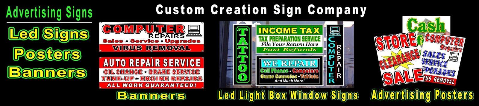 CUSTOM CREATION SIGN CO.