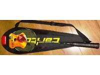 BADMINTON RACKET FOR SALE CARLTON X70 WITH YONEX BG80 STRING