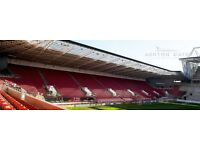 EVENT STAFF WANTED FOR ASHTON GATE STADIUM 2016/17 PREMIERSHIP RUGBY & CHAMPIONSHIP FOOTBALL SEASON