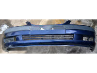 1999 Toyota Avensis - BLUE - Front Bumper .Used in good condition.