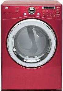 LG DLE7177RM Electric Dryer with 9 Drying Programs (Used) ***READ***