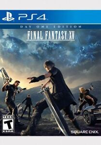 Final Fantasy  XV day one edition with DLC included