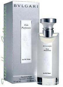 bvlgari bulgari au the blanc eau parfumee perfume spray. Black Bedroom Furniture Sets. Home Design Ideas
