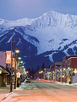 Condo downtown Fernie in the Rocky Mountains