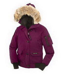 Women Chilliwack Bomber Purplish Red Canada Goose