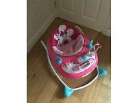 Minnie mouse walker small size