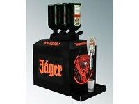 Jaegermeister chiller RRP £440 only £100 ONO