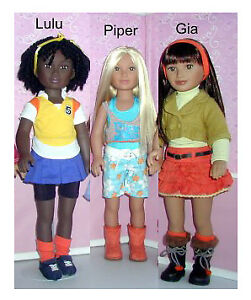 3 Collector's Karito Kids World Collection Dolls& Outfits
