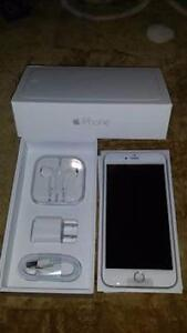 2 64GB Apple iPhone 6 Silver Unlocked One Like New With Box for $540 One Brand New in Box for $590 CALL   647-875-7109