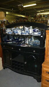 Sideboards, buffets, liner cabinets, cupboards, books shelf's.