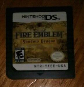 Jeu fire emblem shadow dragon ds