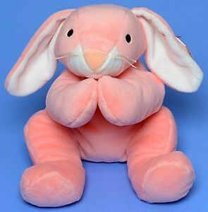 Carrots the bunny Ty Pillow Pal stuffed animal - soft!