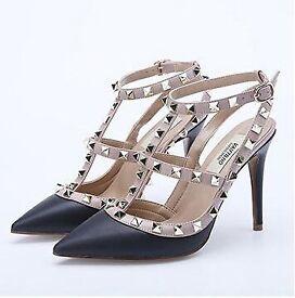 Valentino rockstud heels shoes