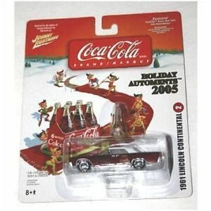 Johnny Lightning 2005 Coca Cola Holiday Automents 1967 Plymouth