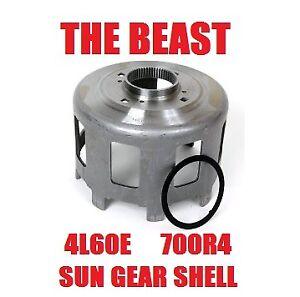 GM 4L60E 700R4 4L65E BEAST STYLE AFTERMARKET HARDENED SUN GEAR SHELL w/ WASHER