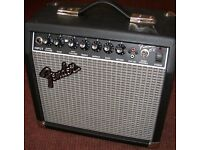 fender frontman 15 watt amp(not working)