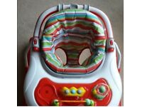 Unisex 3 in 1 baby walker