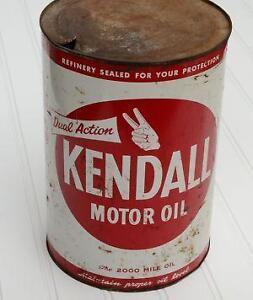 Kendall Oil Ebay