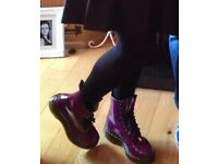 Ladies DOC MARTENS purple PERFECT