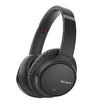 Sony WH-CH700N Wireless Bluetooth Over-The-Head Noise Canceling Headphones Black