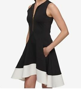 Brand New DKNY dress size S - Black and White