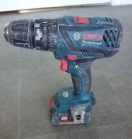 Bosch Pro GSB 18-2-LI plus Cordless Drill 2.6ah battery
