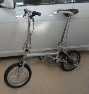Folding Vincent Bike-Excellent for travel