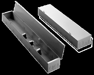 Hoffman Splitter Trough 4 Wire, 600A Part# AST6604R