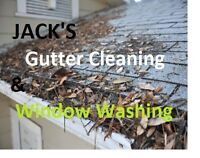 Need your disgusting clogged gutters cleaned out?