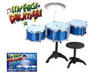 JOB LOT CHILDRENS TOY DRUM SET KIT STICKS MARKET TRADERS AMAZON EBAY SELLERS KIDS CHRISTMAS GIFTS