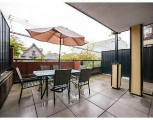 2br & Office w/ Private City Patio - East Van - Dog Friendly