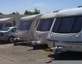 caravan, motorhome and boat storage site (outdoor)