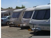 caravan, motorhome and boat storage site (outdoor)