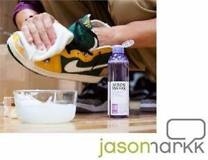 NEW JASON MARKK PREMIUM SHOE CLEANER KIT 4oz INCLUDES STANDARD SHOE CLEANING BRUSH MEN'S WOMEN'S CHILDREN KIDS  89850403