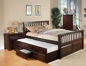 NEW--Until July 02, 2016.--MAXIMUM DISCOUNT--Double/Full Storage Bed-65%OFF--Floor Model. Regular $1399 Now $489.65 + ta
