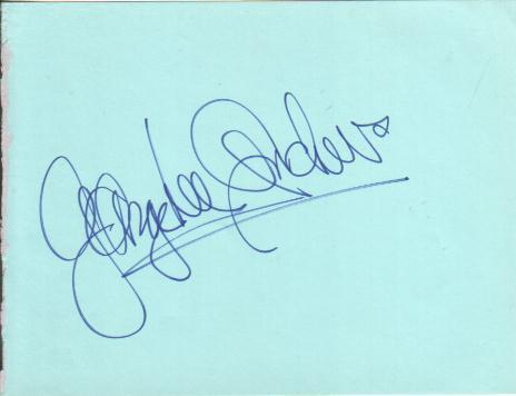 George Lee Andrews Autograph Performed Phantom Of The Opera On 9382 Times