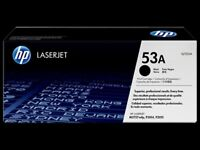 HP 53A Black Original LaserJet Toner Cartridge (Q7553A)