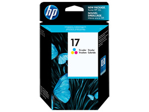 HP 17  Colour Print Ink Cartridge - NEW AND SEALED