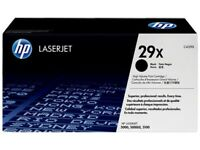 HP 29X High Yield Black Original LaserJet Toner Cartridge (C4129X)