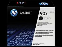 GENUINE HP CE390XD / 90X BLACK HIGH CAPACITY LASER TONER CARTRIDGE TWIN PACK