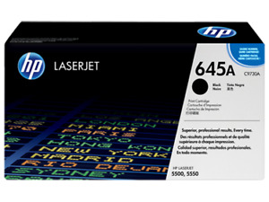 HP Toner Cartridge C9730A, 645A 13000 Page Yield Black