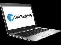 """NEW HP EliteBook 840 G3 Ultrabook 14"""" i5-6300U 2.40Ghz 500GB HDD 8GB Ram - L3C65AV - Win10 64bit"""