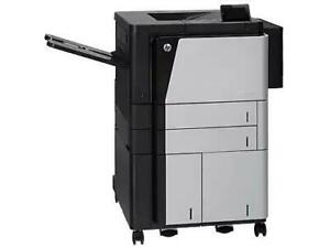 CZ245A  HP LaserJet Enterprise M806x+ 11 x 17 Printer Up to 55 ppm - 1200 dpi - USB/GigaLan 2x500sh + 100sh - 1 x3500-sh
