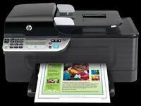 HP Officejet 4500 Wireless All-in-One Printer (Print, scan, copy & fax) -WITH BOX, MANUAL - NO INK