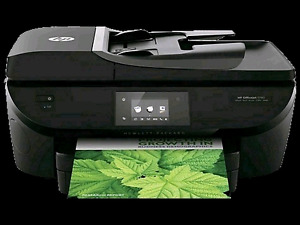HP OfficeJet 5740 AiO wireless printer still in box