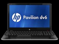 """Awesome 15"""" HP Pavilion DV6 Laptop i3 500gb HDD 4GB RAM - Barely Used!"""