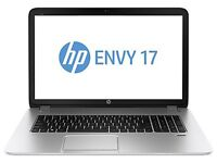 Hp Envy 17 i7 Quad core, 12gb ram, dedicated graphics